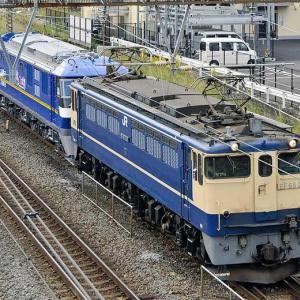 EF210-326が新鶴見へ甲種輸送される