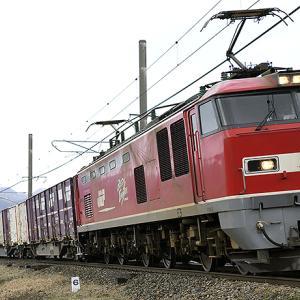 東京 大阪―札幌を結ぶJR貨物列車が 1/14.15 う回運転、暴風雪の影響で