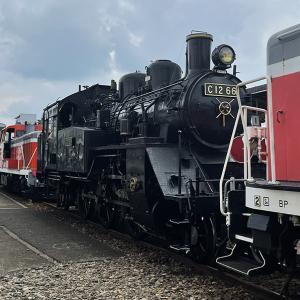 真岡鐵道 蒸気機関車 C12 66 が大宮工場を出場、8/7から「SLもおか」営業運転へ復帰