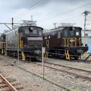岳南電車の電気機関車公園は「がくてつ機関車ひろば」に…8月21日のオープン当日はライトアップも
