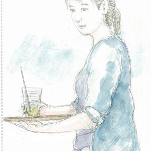 Cafeの奥さん(ママ)とMちゃん