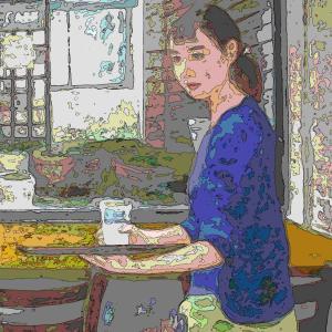 cafeの絵