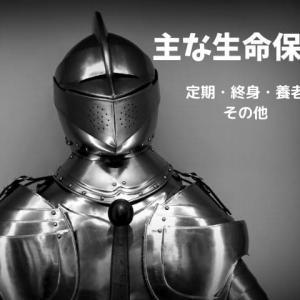 主な生命保険(定期・終身・養老・その他)【FP3級勉強】