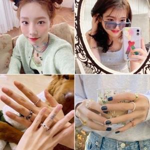 『韓国ファッション』多くのアイドルも愛用❤︎今流行中のビーズアクセ♥