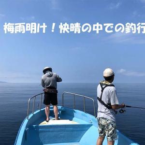 7月中旬キャスティング&SLJ・タイラバ釣果情報