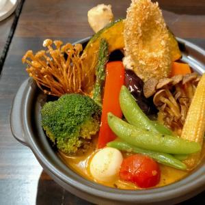 【訪問実食レビュー】「森のバター」~チキンと気まぐれ野菜のMAXカレー編~