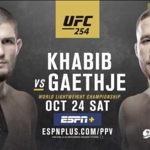 今週末、無敗・最強の「イーグル」ハビブ・ヌルマゴメドフ vs. 名勝負製造機ジャスティン・ゲイジー【UFC254】