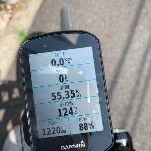 50kmライドに成功!