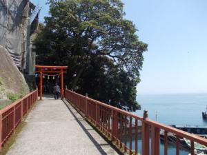 陸路の存在しない神斎く島へ~竹生島【滋賀】