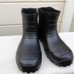 雨天時の装備が重要、ワークマンで長靴をゲット!