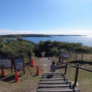 ソレイユの丘の遊具で遊んで、昼は和田長浜海岸でBBQ(前編)