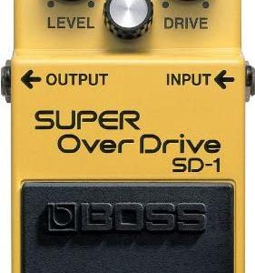 boss sd-1 od-3 商品レビュー 初心者にはオススメです。
