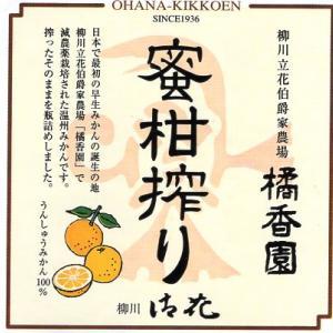 お中元 高級みかんジュース 蜜柑搾り 立花農園 橘香園 柳川 御花