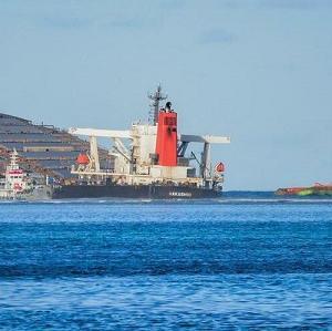 やっと報道!モーリシャス沖座礁船の重油抜き取り終了
