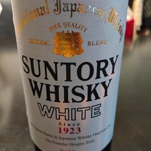 「サントリーウイスキーホワイト」@ジャパニーズ・ウイスキー 40% ¥1,057(税抜)640ml