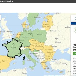 EUの入国情報サイトRe-Open EU