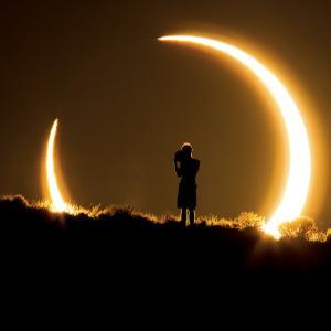 夏至の今日。新月と金環日食も重なります