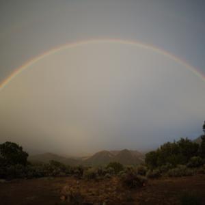 夜の虹 ~Moonbow~