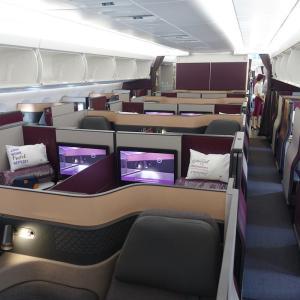 カタール航空ビジネスクラス(Q Suite含む)驚きの1800ユーロ台 パリ発シンガポール行き