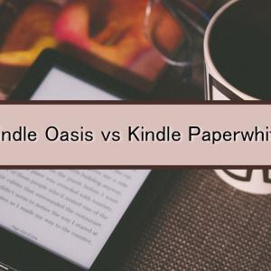 Kindle Oasis vs Kindle Paperwhite