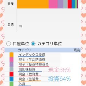 【家計管理】2021/2/4 資産構成