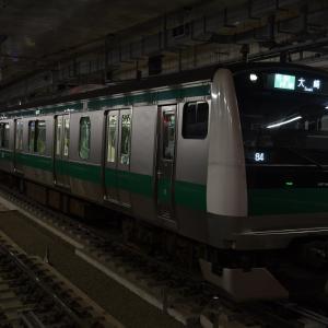 【JR】渋谷駅工事による行き先変更