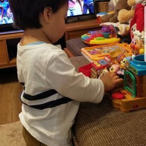 長男のNo.1ヒットのおもちゃ(アンパンマン編)