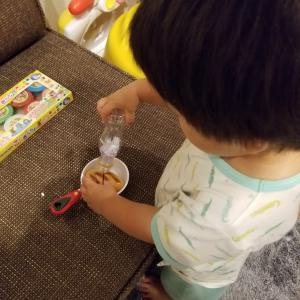 2歳の男の子育児はアイデア勝負!~お塩編~
