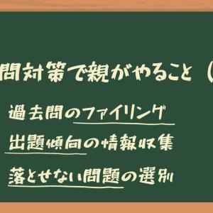 【中学受験 2021】過去問対策で親がやることは沢山ある(その3:その他)