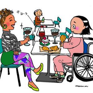 骨折患者のクリスマス