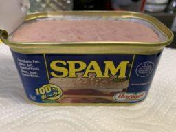 30代になって人生で初めてスパムを食べてみた
