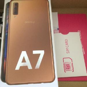 楽天モバイルでGalaxy A7が届いた!キャンペーンでめちゃポイントつく!