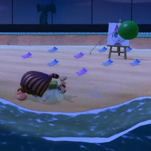 【あつ森】アイカ島へ訪問!ツタンカーメンでコケたよ【アイカ島】