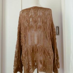 Lacey sweater(日本語パターン)