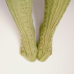 Owlie Socks(海外freeパターン)