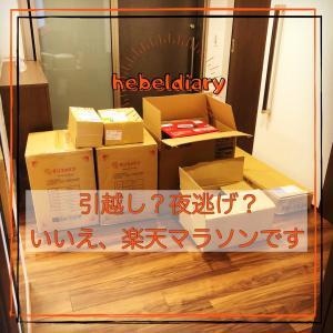 大量に届いた荷物が埋め尽くした玄関