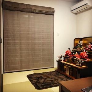 ひな人形、和室が使えないとどこに飾るか問題