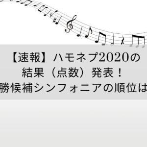 【速報】ハモネプ2020の結果(点数)発表!優勝候補シンフォニアの順位は?
