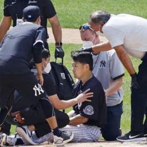 【動画】田中将大(マー君)を直撃したスタントンの打球 検査結果は問題なし!
