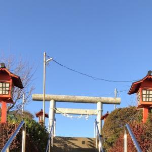 成増五丁目 やたらすっきりしている菅原神社