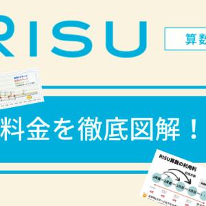 RISU算数の料金を図解!利用料って何?損しない活用方法を解説!