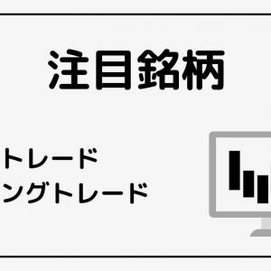 10/28【注目銘柄】デイトレード/スイングトレード