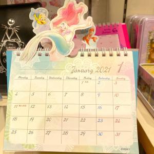 【ディズニーストア】キャラクターが飛び出すカレンダー♪