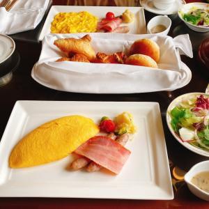 【10月ミラコスタ宿泊記⑤】ルームサービスの朝食がオススメです♪