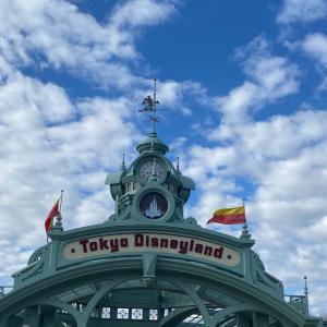 【ランド現地】今日は東京ディズニーランドです♪