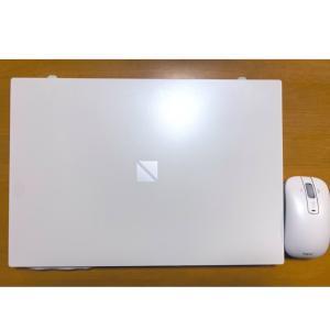 新しいノートPC、カッコいい〜!(o^O^o)おはようございます〜!