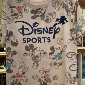 ディズニースポーツのTシャツでいまさら気づいたこと!