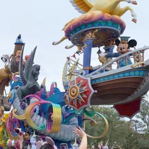 【ランド現地】9月最後の週末!今日のパレード無事完走しました♪