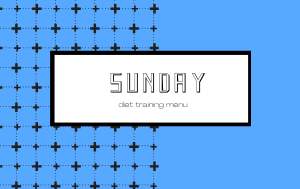 【曜日別トレーニング】日曜日は下半身を鍛える