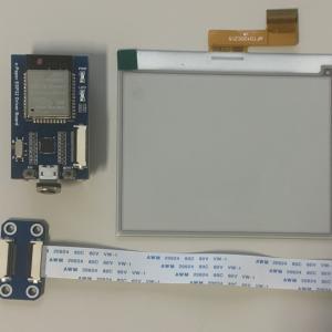 e-PaperとESP32-WROVERの構成でGo!